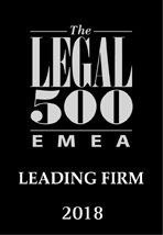 The Legal 500 EMEA 2018 edition
